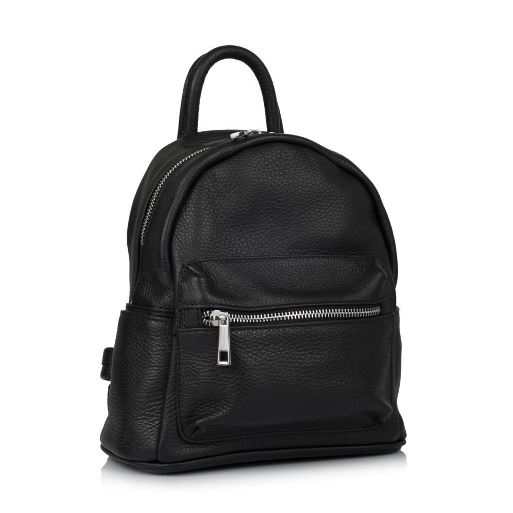 df878d8d8adf Кожаный рюкзак virginia conti (италия) vc01383black - купить в Украине,  цены, отзывы, описание | интернет-магазин IBAG