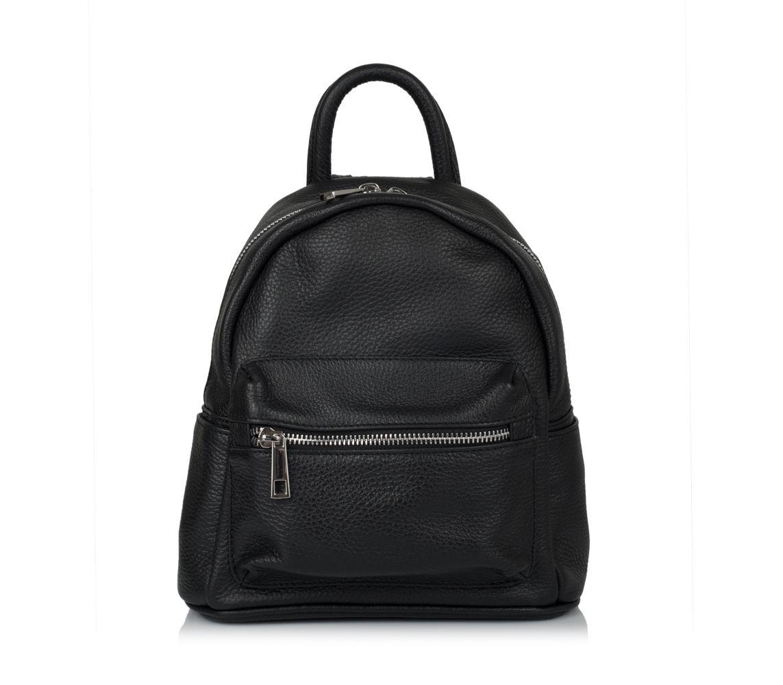 b0500c1e18f5 Кожаный рюкзак virginia conti (италия) vc01383black - купить в ...