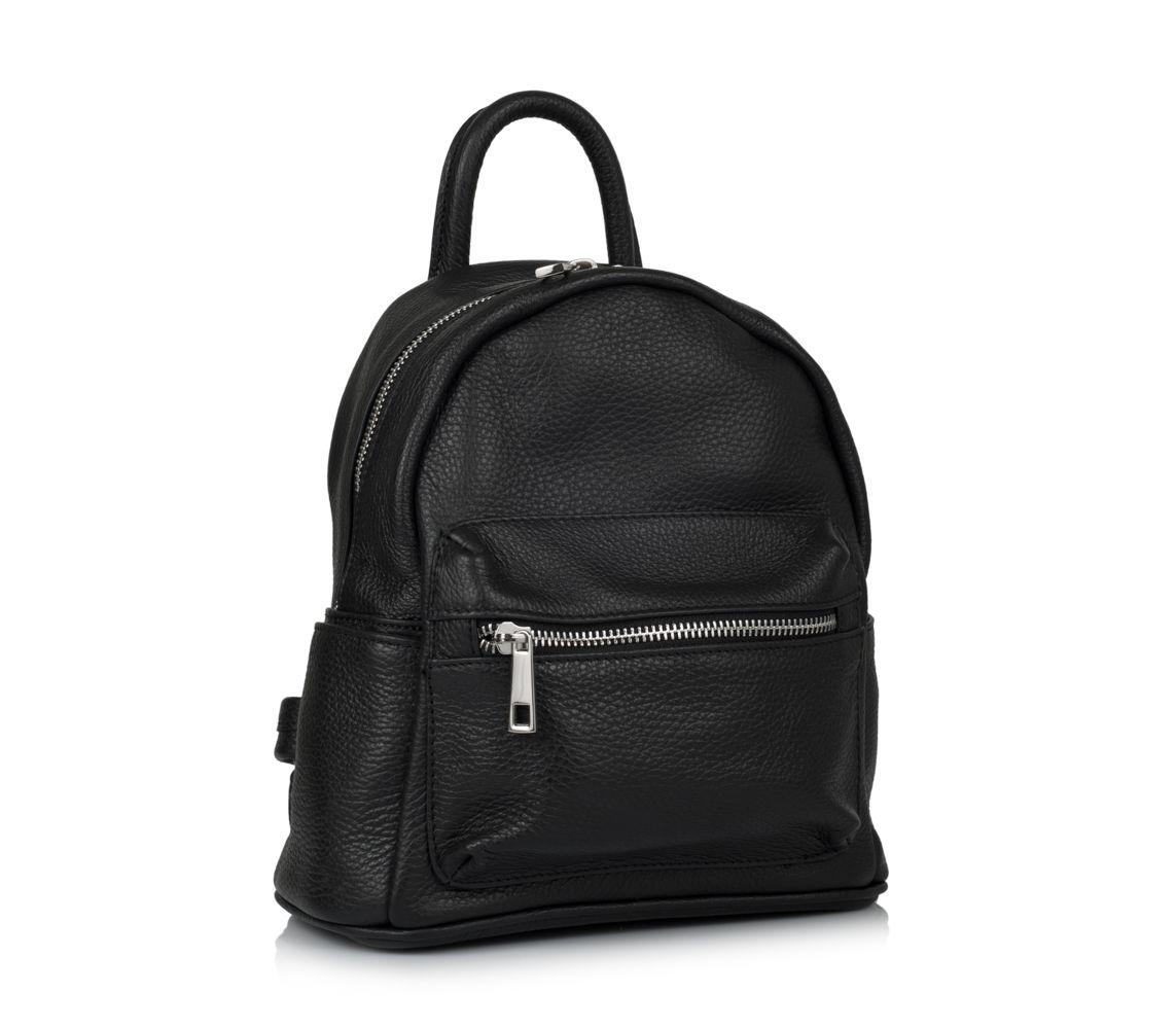 9d5d55a87a2b Кожаный рюкзак virginia conti (италия) vc01383black - купить в ...