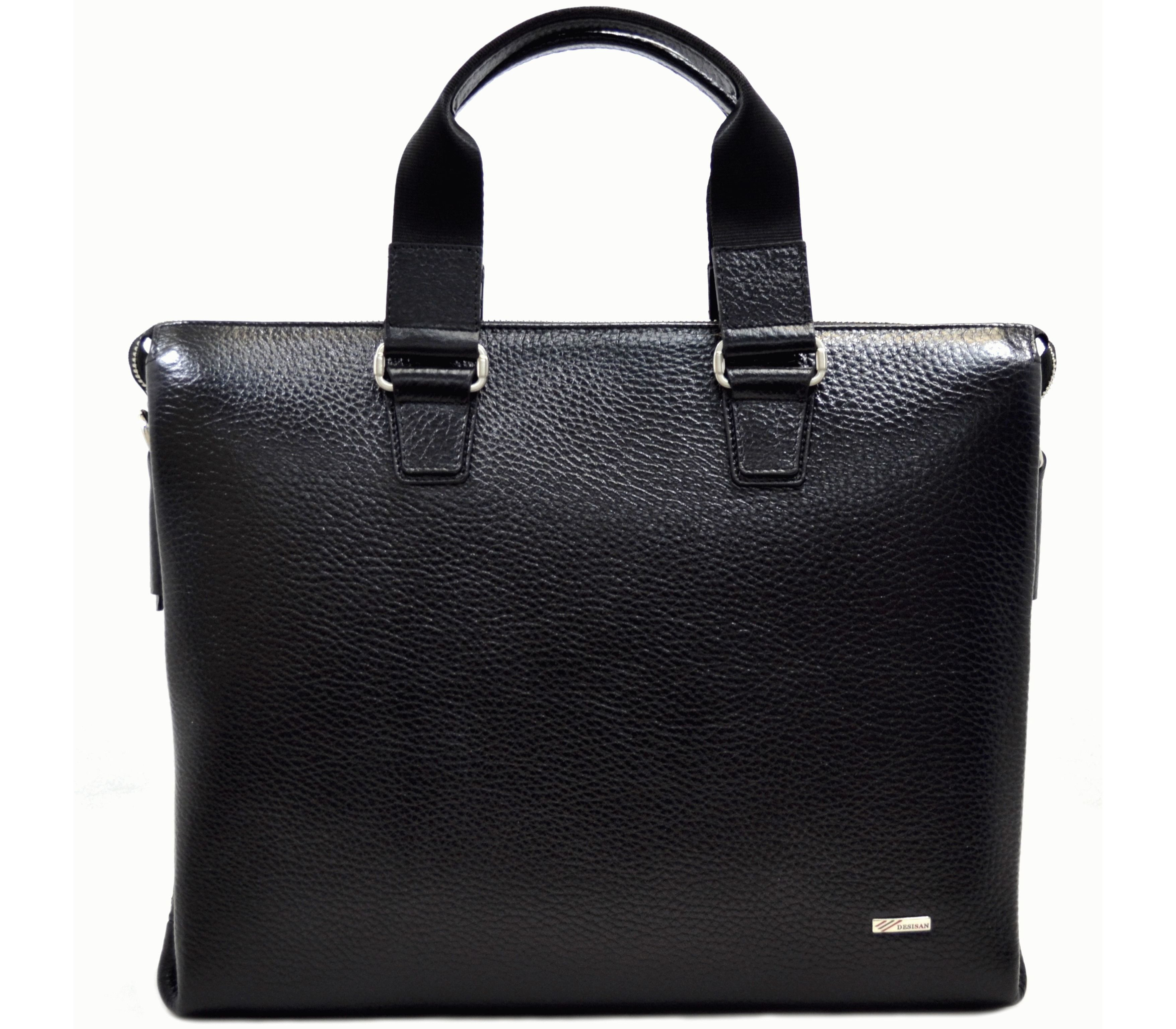 6f2a777827d7 Портфель кожаный desisan черный 1341-011black - купить в Украине ...