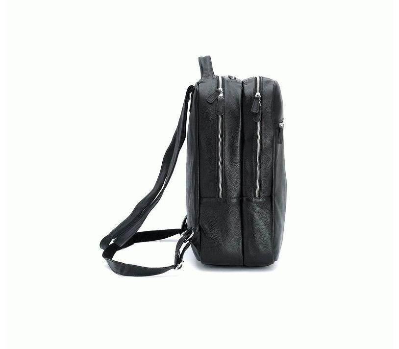 9fa69f41ef7b Рюкзак кожаный tiding bag черный t3064 - купить в Украине, цены ...