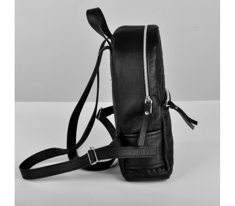 a42457016b89 Рюкзак кожаный jizuz caspia черный cas312310b - купить в Украине ...